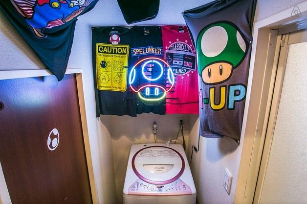 O apartamento dos sonhos para os fãs de Super Mario