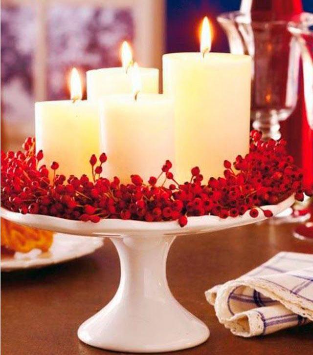 01-ideias-para-decorar-a-sua-mesa-de-natal-com-velas