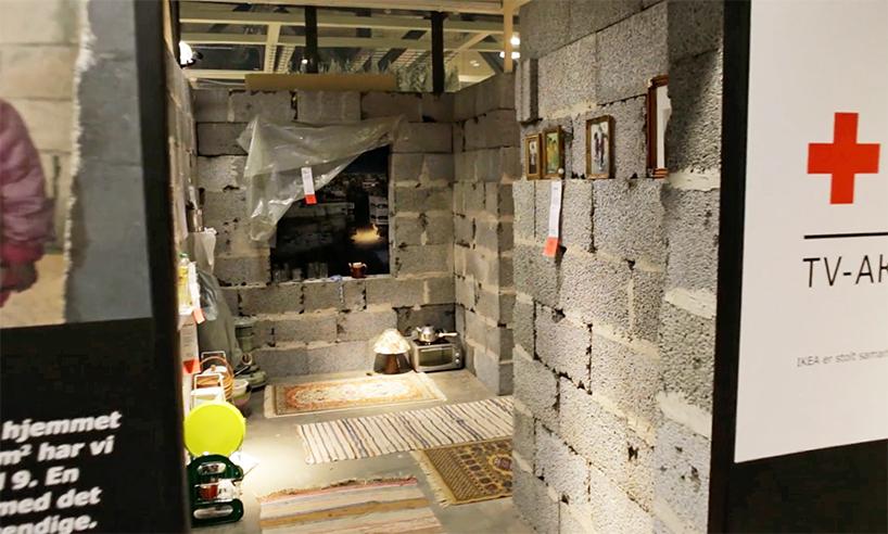 01-instalacao-reproduz-casa-siria-em-loja-da-ikea-na-noruega