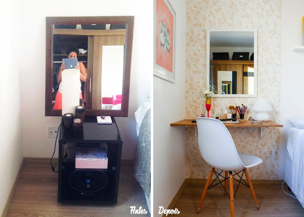 03-antes-e-depois-quarto-ganha-papel-de-parede-e-cantinho-da-maquiagem