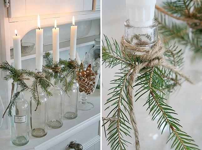 07-maneiras-de-decorar-a-mesa-de-natal-com-garrafas-de-vinho