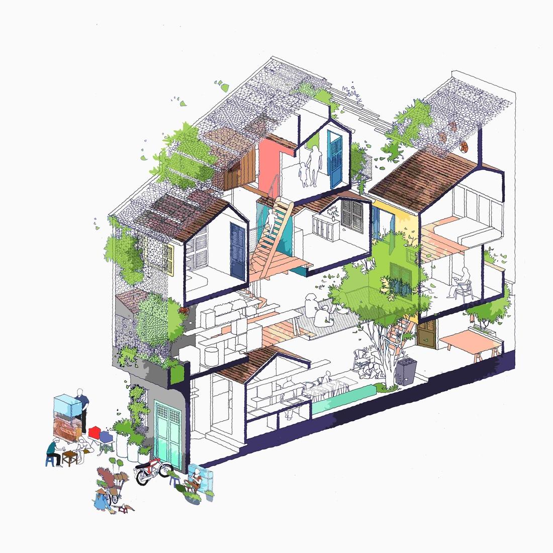 07-nesta-casa-ambientes-parecem-pequena-vila