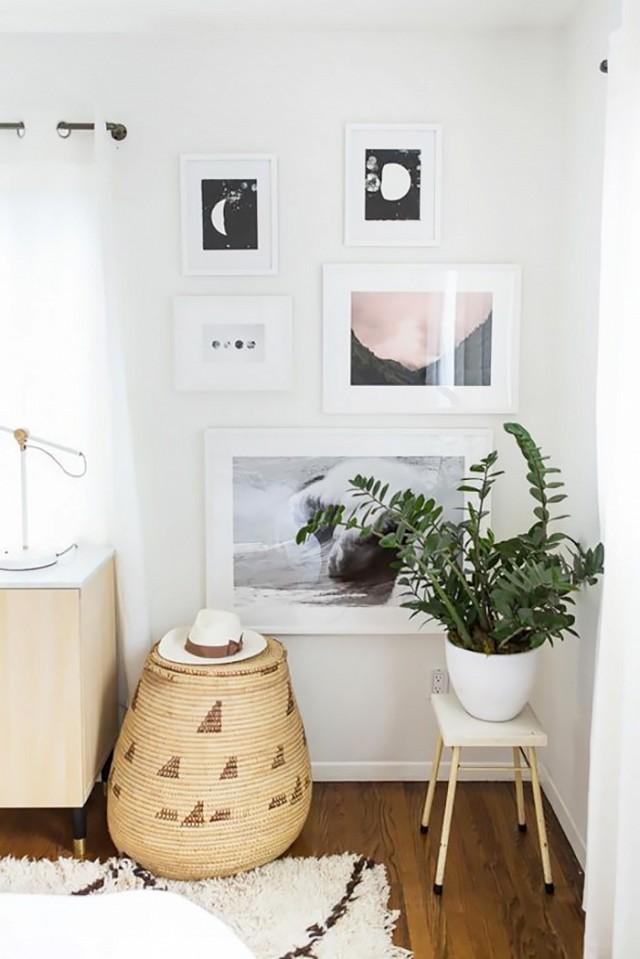 6-maneiras-criativas-de-colocar-quadros-em-um-espaco-pequeno
