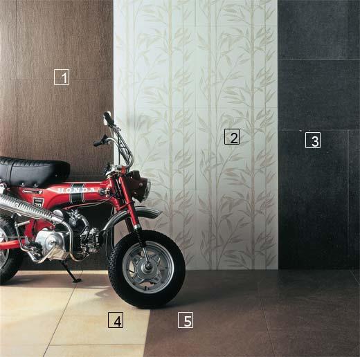 1. Com textura, o porcelanato retificado Tibet (60 x 60 cm) ...