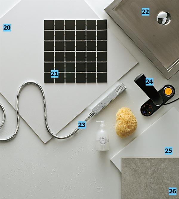 20. Porcelanato para piso e parede Square White (60 x 60 cm), da séri...