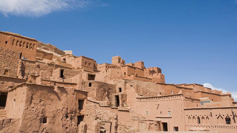 Aït-Ben-Haddou, no Marrocos
