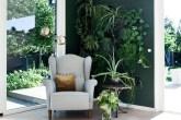 ambiente-com-parede-verde-e-plantas