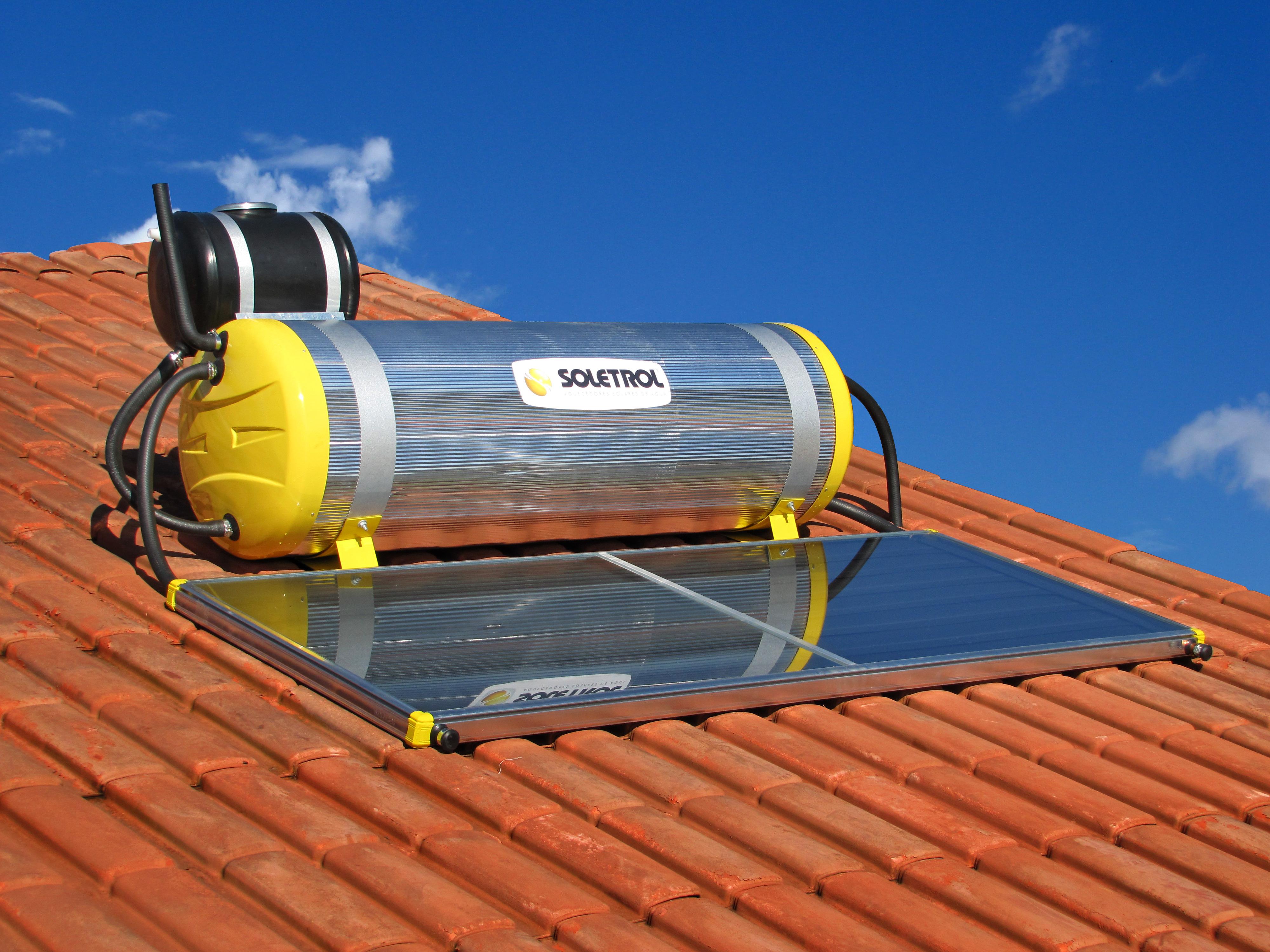 Aquecedor Solar Compacto Soletrol Special