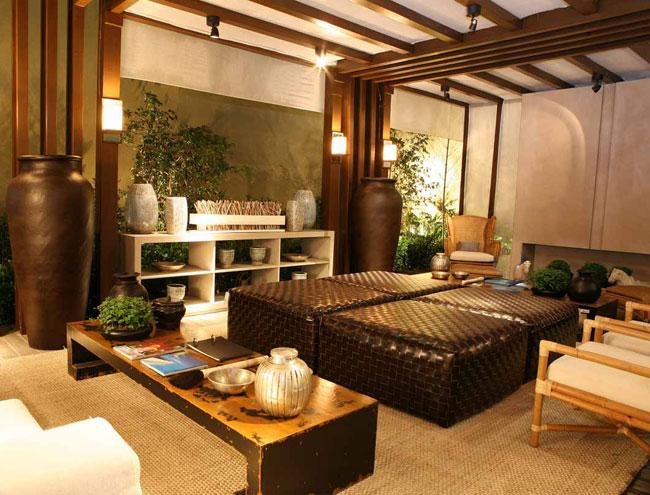 A arquiteta Débora Aguiar criou o Lounge da Jabuticabeira para a Artefacto B...
