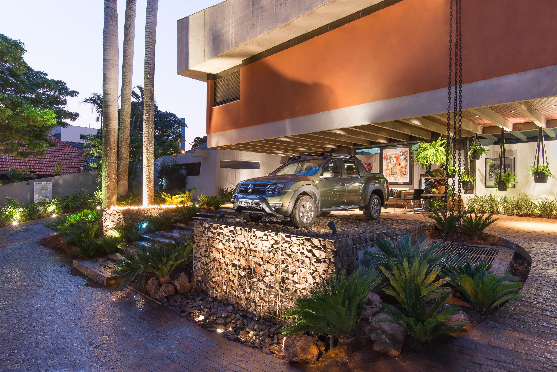 Garagem de Estar na Casa Cor Mato Grosso