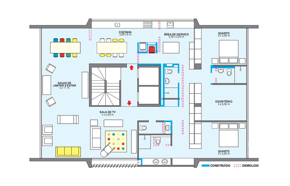 planta-apartamento-tem-todo-o-piso-revestido-com-pastilhas-azuis