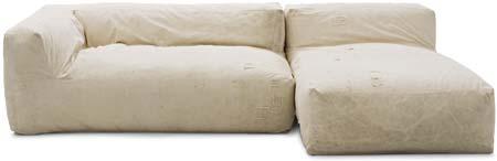 O sofá Carbono 11, com preço sugerido de R$ 3 719, de Marcus Ferreira, incl...