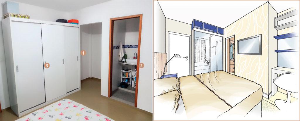 01-quarto-de-casal-ganha-parede-de-drywall-e-vao-vira-closet