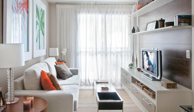 73 Um único sofá: ser funcional está na moda