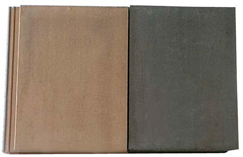 As peças de concreto podem ser lavadas no próprio telhado com máquina de j...