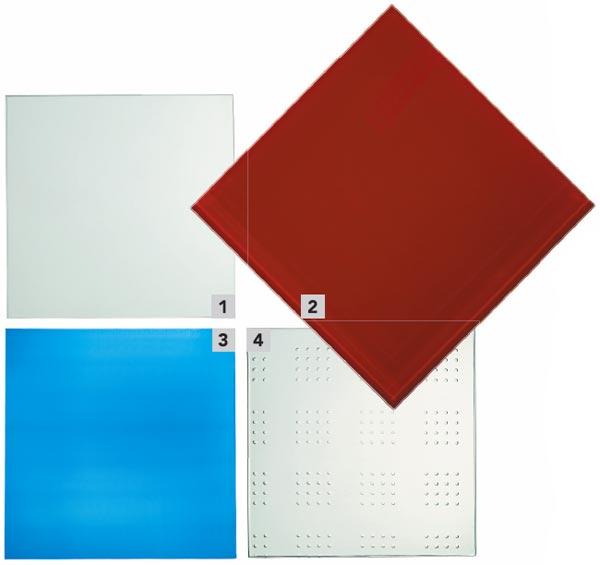 1. Optiview é um vidro com baixo índice de reflexão e alta transmis...