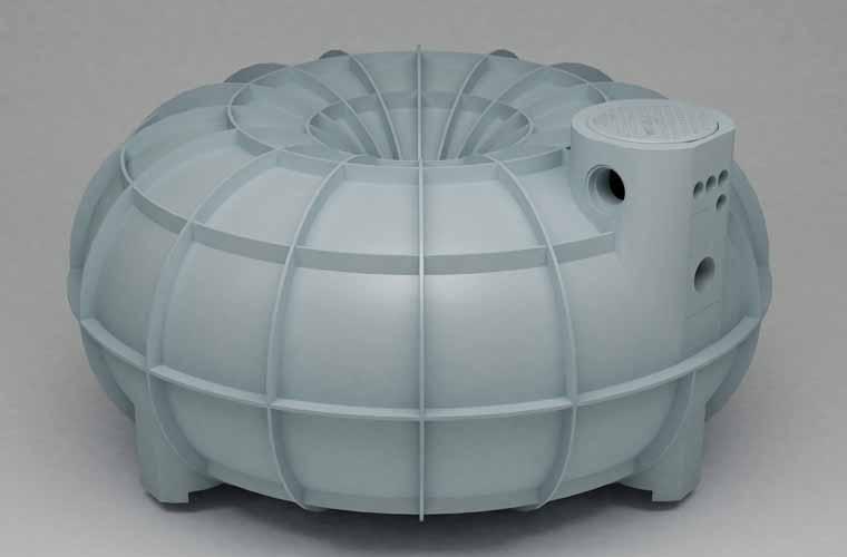 As cisternas de polietileno, como a da Fortlev de 3 mil litros (foto), aparec...