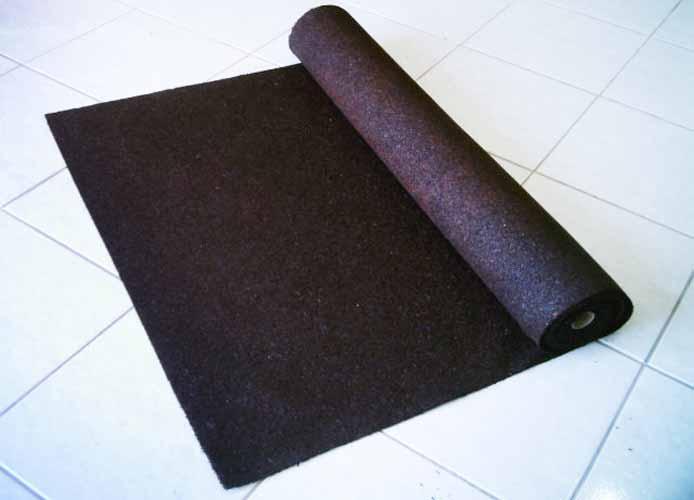 As mantas da Caça-Ruídos são feitas de pneus reciclados. ´´O que é uma ...