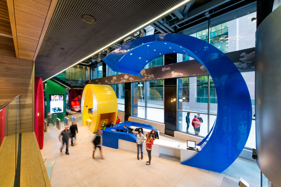 Google's Dublin Office