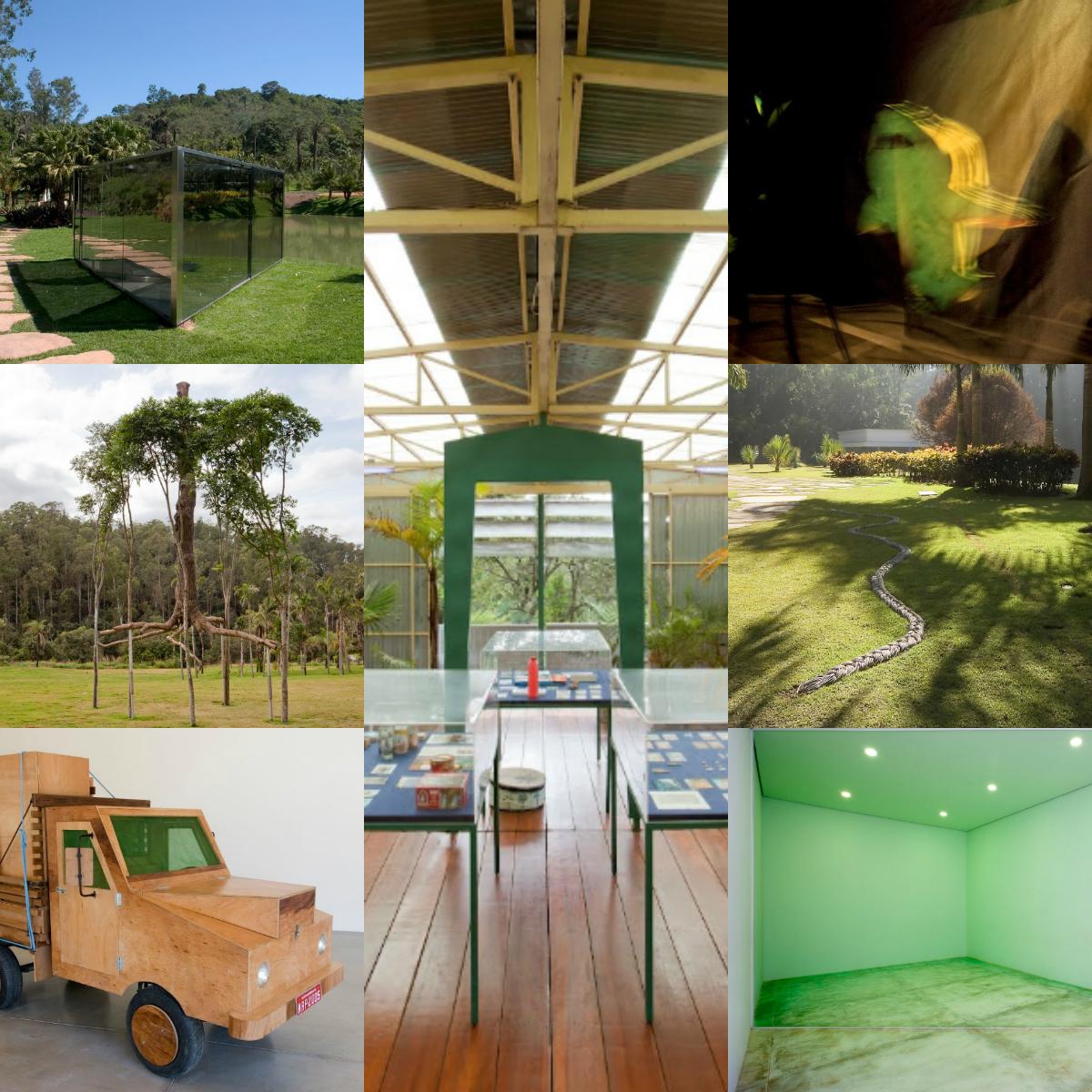 Inhotim-colagem-de-obras-verdes