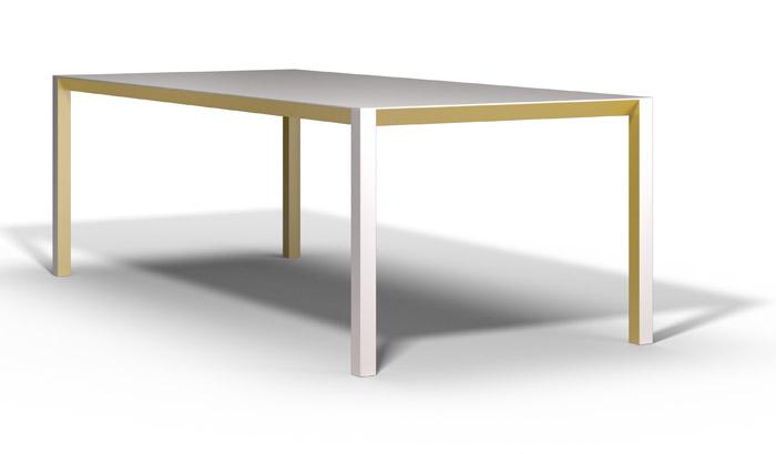 Versão colorida da mesa Shadow.
