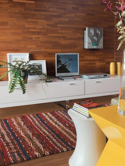 Com 38 m², o apartamento tem projeto de interiores da arquiteta Cristina Boz
