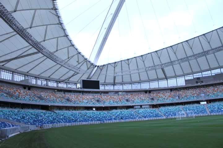 Mais uma vista do Estádio Green Point em Cape Town