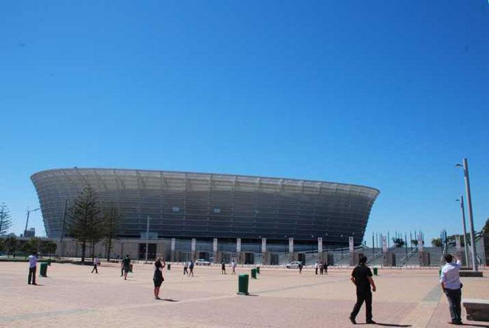 Estádio Moses Mabhida em Durban