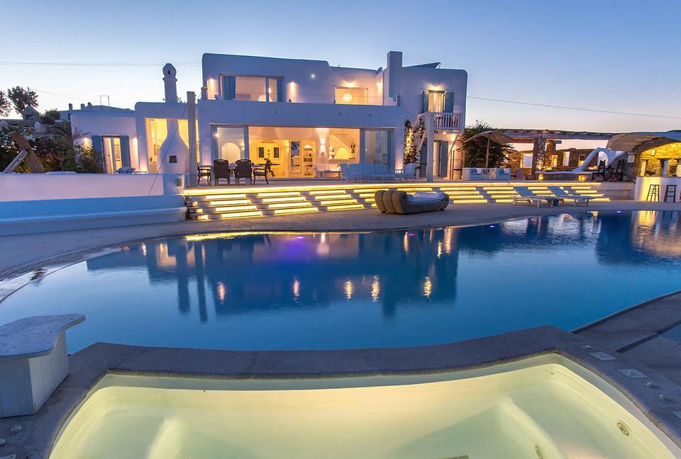 Mansão na Grécia