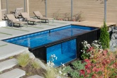 Conheça esta piscina feita com containers no Canadá