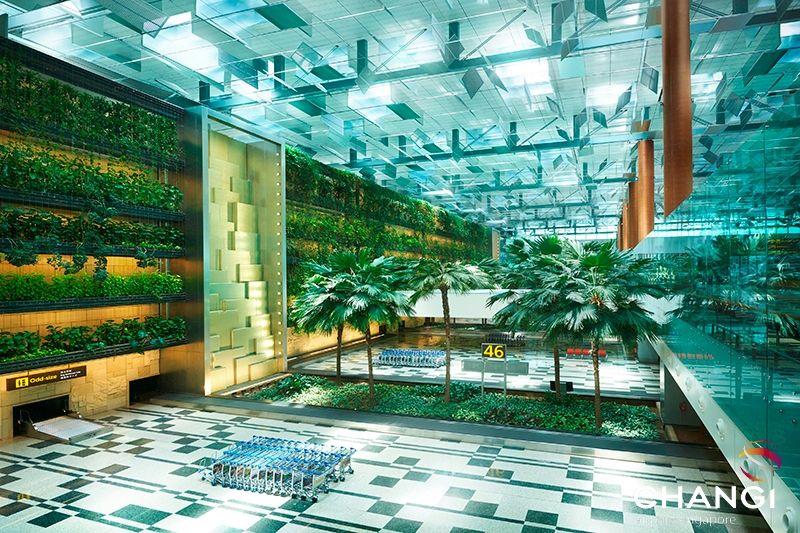 Aeroporto em Singapura é eleito o melhor do mundo pela 5ª vez