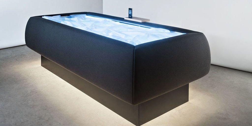 Com esta piscina você pode ficar boiando sem se molhar