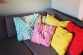 lenço capa de almofada