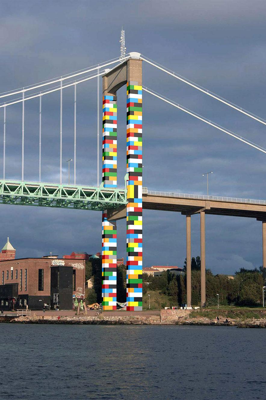 ponte de lego