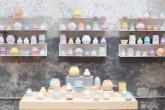 cerâmicas coloridas