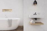 banheiro com cara de spa