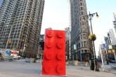 peça de LEGO gigante