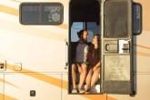Brendan e Sam Binger largaram tudo para viver na estrada atravessando os Estados Unidos