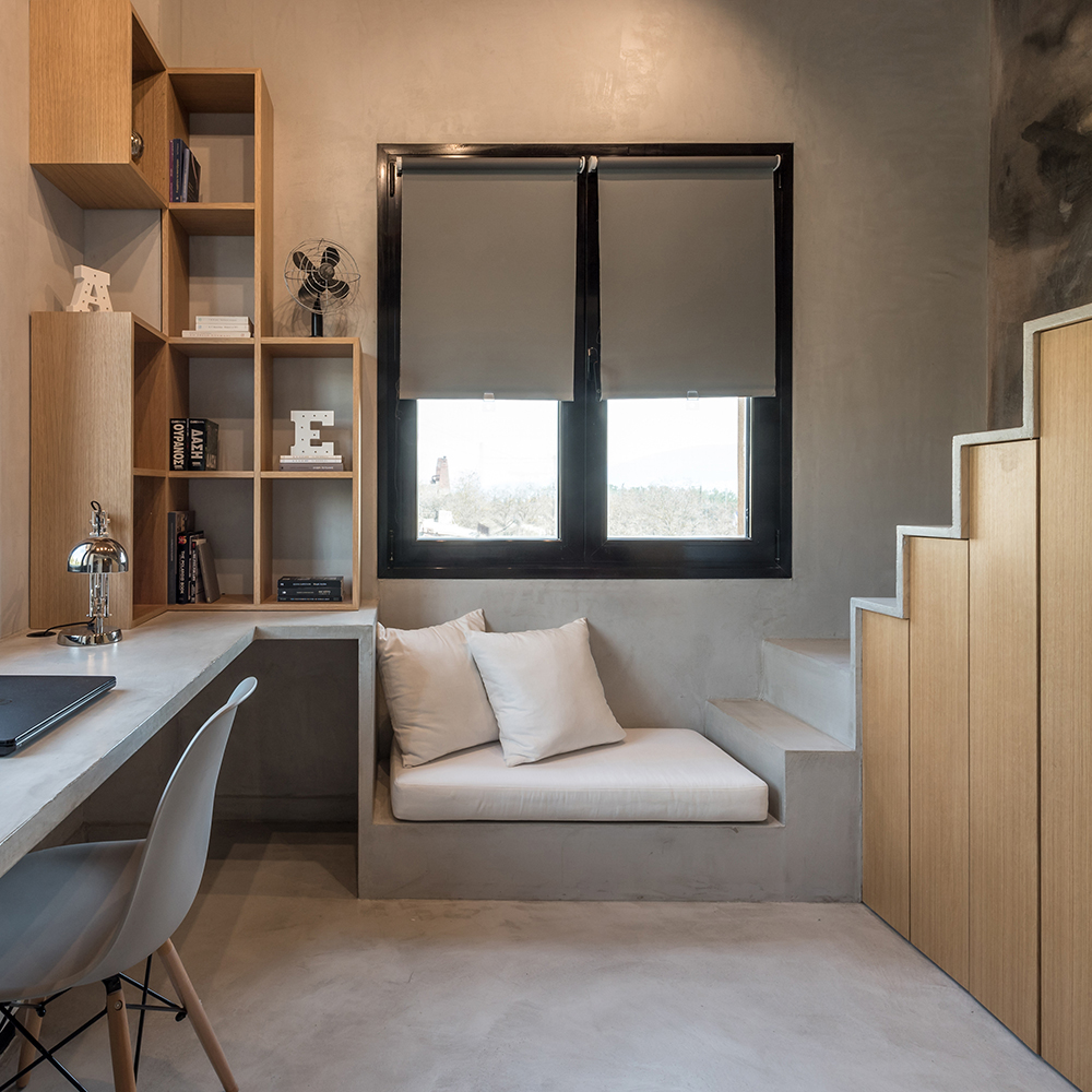 Os moradores deste apartamento queriam ambientes que lembrassem uma casa de interior