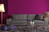 usar cores fortes na decoração