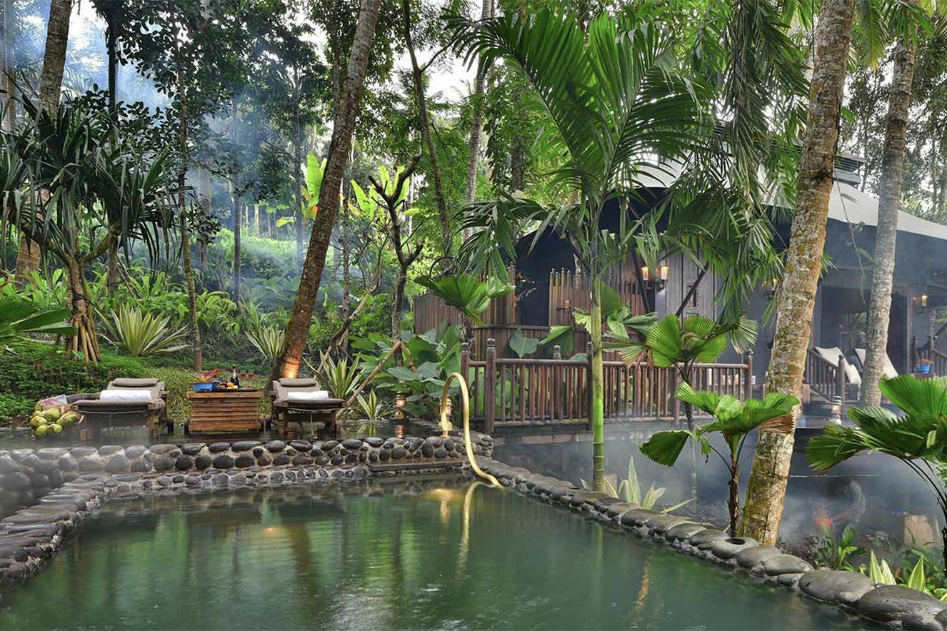 hotel na floresta Bali