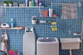 Nestes ambientes, azulejos, cores, plantas e tapetes ajudam a trazem personalidade à lavanderia e mostram que o espaço pode, sim, ser decorado de várias formas diferentes. Confira