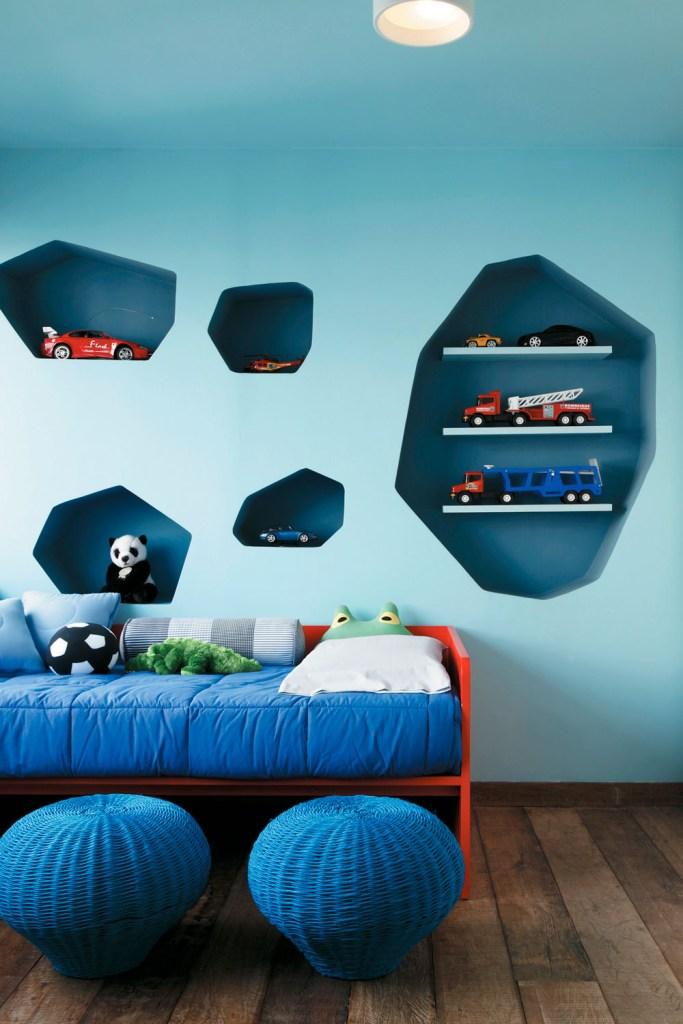 Fizemos uma seleção de alguns espaços em que o pufe foi acrescentado ao décor. Confira!