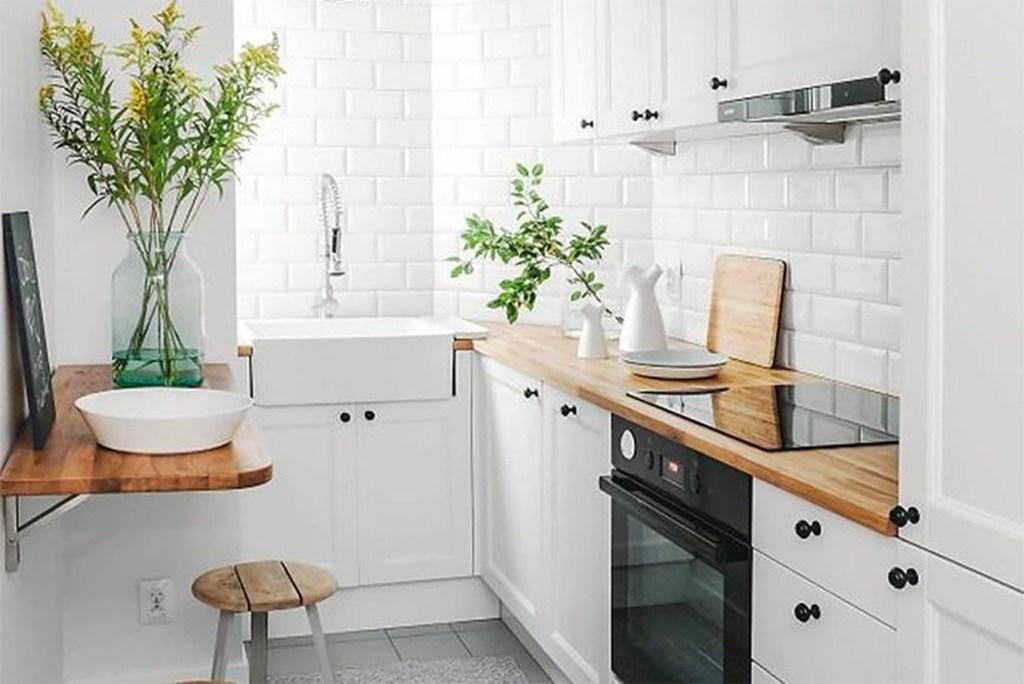 como decorar uma cozinha pequena