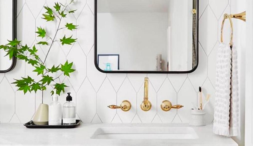 Banheiro renovado