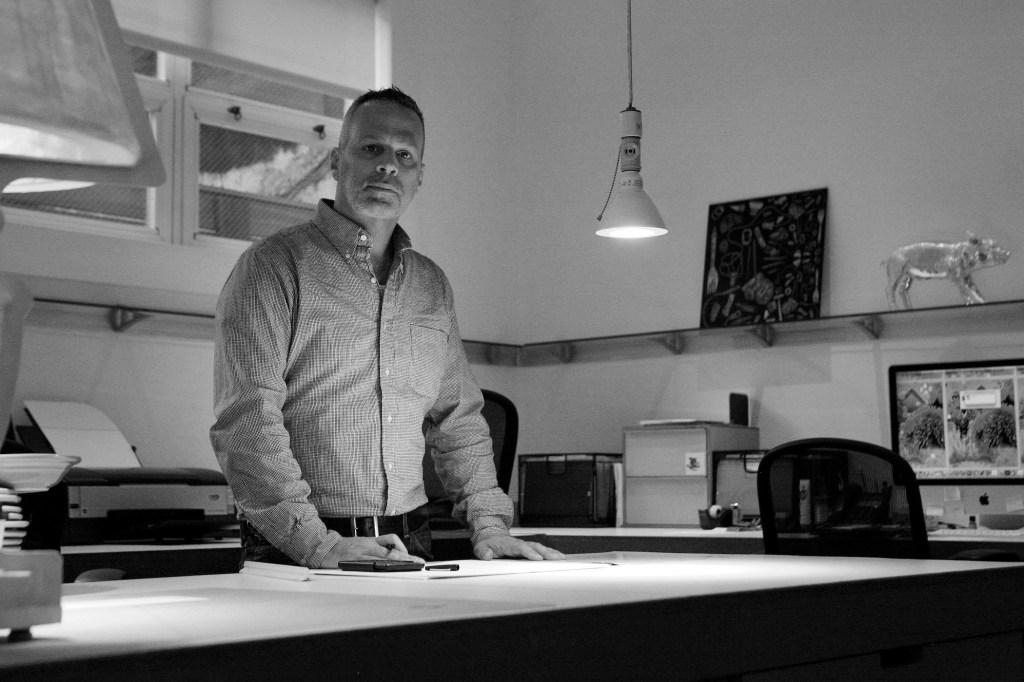 O designer norte-americano Harry Allen