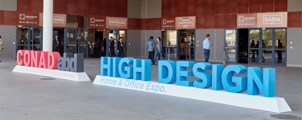 Recepção da High Design 2018