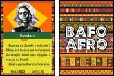 Professora cria jogo de cartas com grande nomes da cultura preta