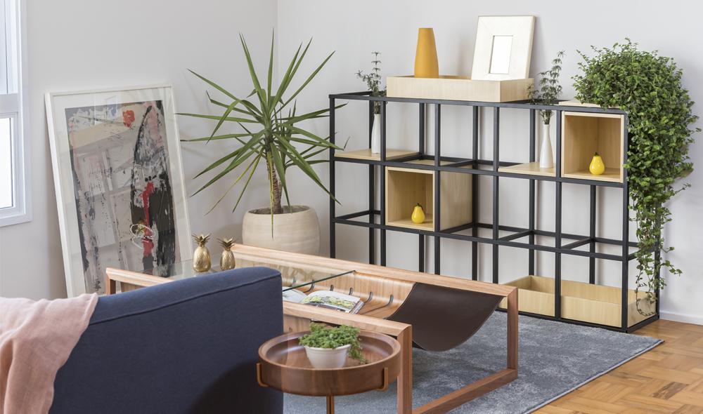 Casa mobiliada com móveis da empresa Tuim