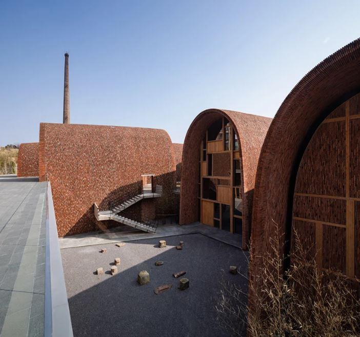 Túneis da obra do Studio Zhu-Pei